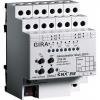 Blind actuator, 4-gang 230 V AC/12-48 V DC with manual activation