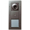 Surface-mounted door station with colour camera, door loudspeaker and calling button, 1-gang