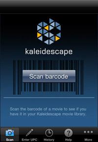 Kaleidescape iPhone app