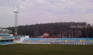 Стадион Подгорица - преко дана