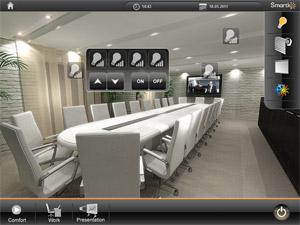 Home server визуелизација за контролу груписаних светала